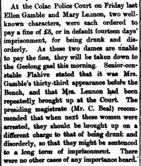 """NOTES AND EVENTS."" The Colac Herald (Vic. : 1875 - 1918) 13 Jun 1876: ."