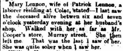 """DEATH BY BURNING."" The Colac Herald (Vic. : 1875 - 1918) 27 Jan 1882: 2 Edition: ."