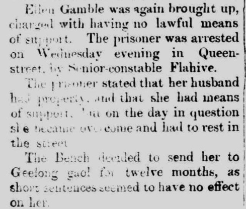 """COLAC POLICE COURT."" The Colac Herald (Vic. : 1875 - 1918) 25 Mar 1879: 4 Edition: Mornings.."
