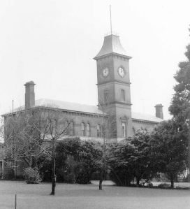 THE FORMER HAMILTON & WESTERN DISTRICT COLLEGE NOW HAMILTON COLLEGE. Image Courtesy of the State Library of Victoria, J.T.Collins Collection. Image no. H97.250/74 http://handle.slv.vic.gov.au/10381/229855