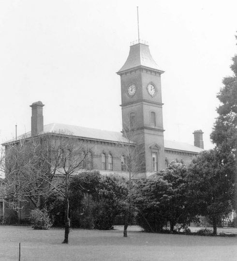 HAMILTON COLLEGE.  Image Courtesy of the State Library of Victoria, J.T.Collins Collection.  Image no. H97.250/74 http://handle.slv.vic.gov.au/10381/229855