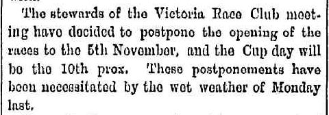 """No Title."" The Bacchus Marsh Express (Vic. : 1866 - 1918) 29 Oct 1870 ."