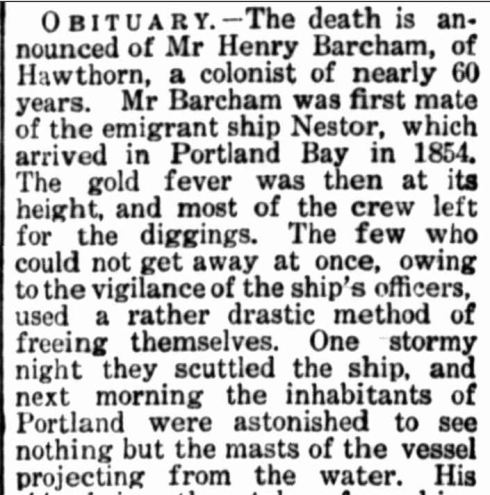 """[No heading]."" Portland Guardian (Vic. : 1876 - 1953) 19 Sep 1910: 2 Edition: ."