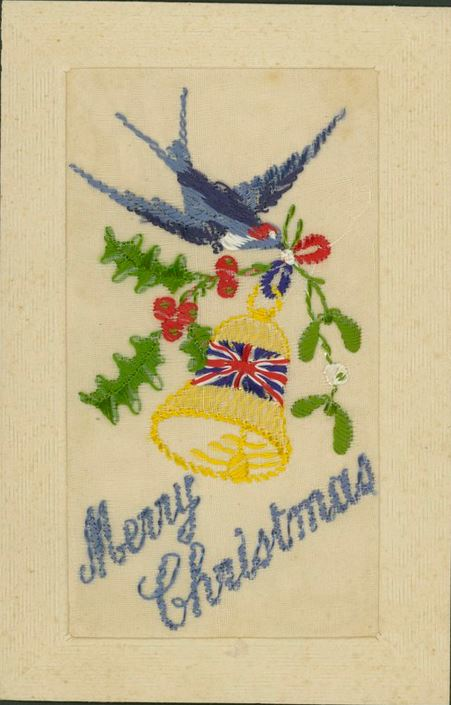 """Handwritten note on verso: France 3/11/16. Dear Meryn wishing you a Merry Xmas & a Happier New Year from """"Juggo"""" or Jack Miller. Sent to address in Victoria."""
