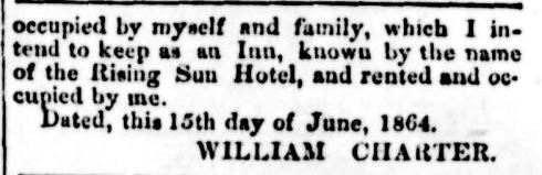 """[No heading]."" Portland Guardian and Normanby General Advertiser (Vic. : 1842 - 1876) 20 Jun 1864: 3 Edition: EVENING. Web. 26 Dec 2014 ."