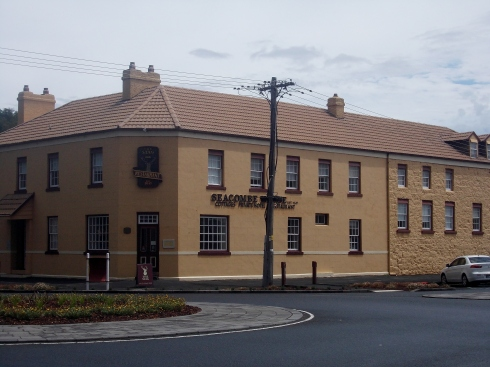 SEACOMBE HOUSE, PORT FAIRY FORMALLY THE STAG HOTEL.