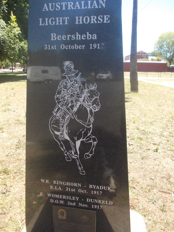 BEERSHEBA MEMORIAL, HAMILTON