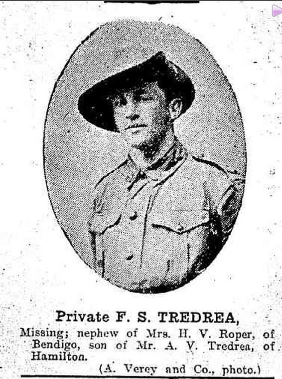 """MISSING SOLDIER."" Bendigonian (Bendigo, Vic. : 1914 - 1918) 5 Oct 1916: http://nla.gov.au/nla.news-article91386121>."