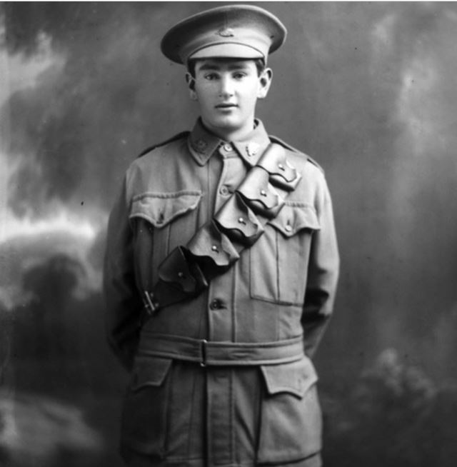 Ivan Thomas Shaw.  Image Courtesy of the Australian War Memorial.  Image no.