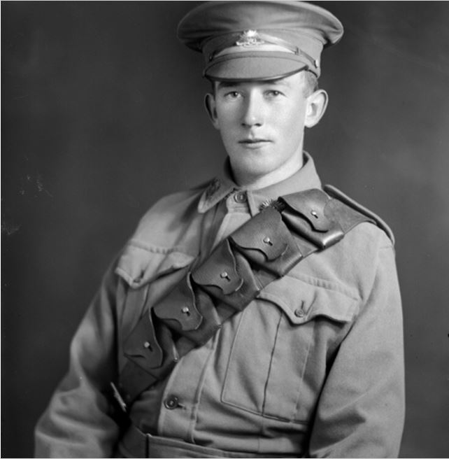 STANLEY ROY NIDDRIE. Image courtesy of the Australian War Memorial. Image no. DASEY1899 https://www.awm.gov.au/collection/DASEY1899/