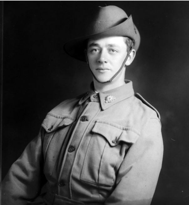 GEORGE RICHARD PORTER. Image courtesy of the Australian War Memorial