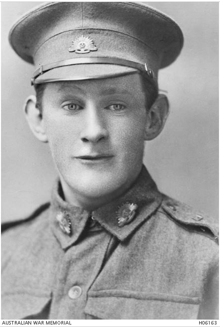 CLARENCE EVERARD YOUNG. Image courtesy of the Australian War Memorial. Image no. H06163 https://www.awm.gov.au/collection/H06163/