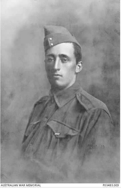 JOSEPH ALAN CORDNER. Image Courtesy of the Australian War Memorial. Image no. P03483.009 https://www.awm.gov.au/collection/P03483.009/