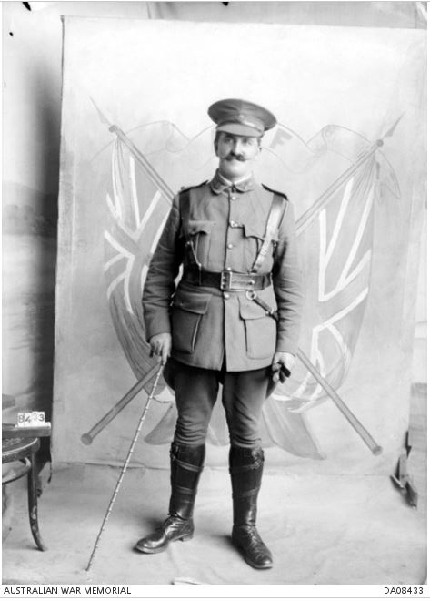 GEORGE WILLIAM McQUEEN. Image courtesy of the Australian War Memorial