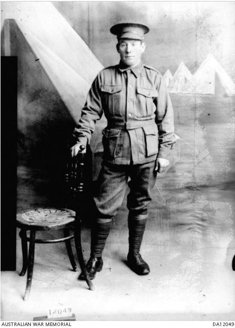 Archibald Alfred RHOOK. Image Courtesy of the Australian War Memorial. Image no. DA12049https://www.awm.gov.au/collection/DA12049/