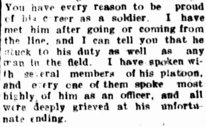 """THE LATE LIEUTENANT M'QUEEN"" Hamilton Spectator (Vic. : 1870 - 1873; 1914 - 1918) 16 June 1917: ."