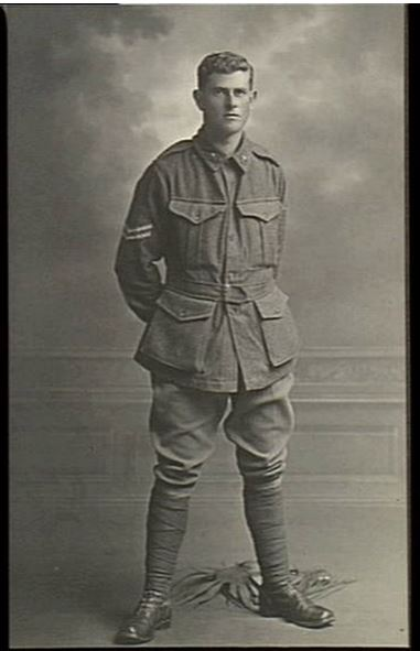 FRANK REGINALD ELDER. Image courtesy of the Australian War Memorial Image no. H05929 https://www.awm.gov.au/collection/H05929/