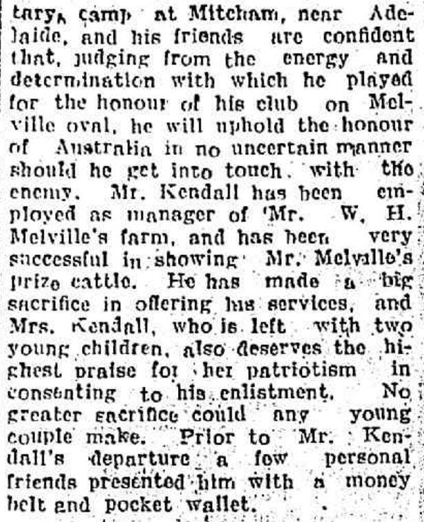 """Items of News"" Hamilton Spectator (Vic. : 1870 - 1873; 1914 - 1918) 8 June 1916: ."
