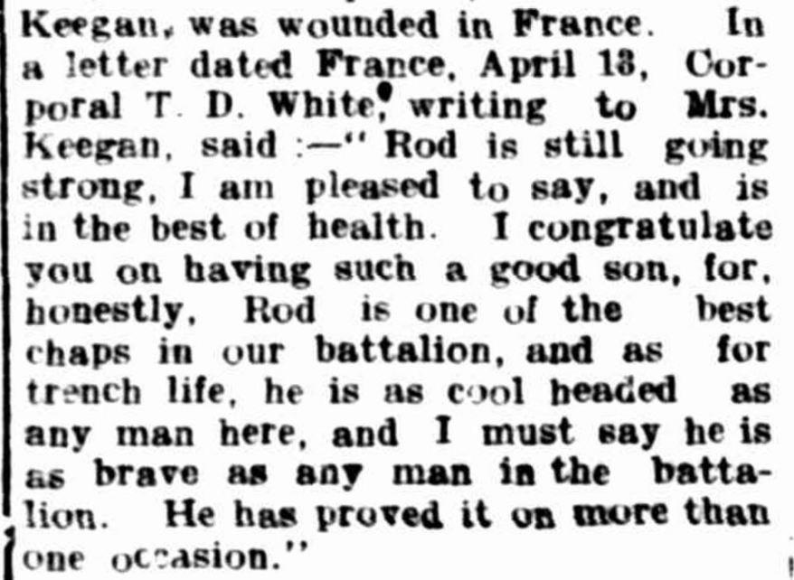"""Hamilton Spectator"" Hamilton Spectator (Vic. : 1870 - 1918) 6 July 1917: ."