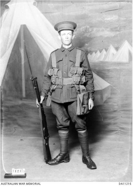 WILLIAM ALEXANDER CHRISTIE LEES. Photo courtesy of the Australian War Memorial. Image no. DA11215 https://www.awm.gov.au/collection/DA11215/