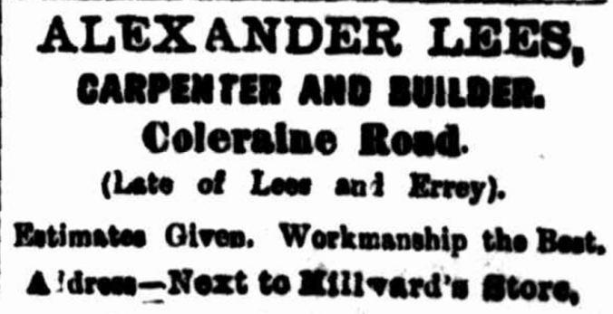 """Advertising"" Hamilton Spectator (Vic. : 1870 - 1873; 1914 - 1918) 6 July 1909: ."