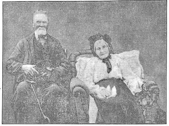 """A VENERABLE COUPLE."" Weekly Times (Vic. : 1914 - 1918) 14 Apr 1917: 10. Web. 15 Aug 2015 ."