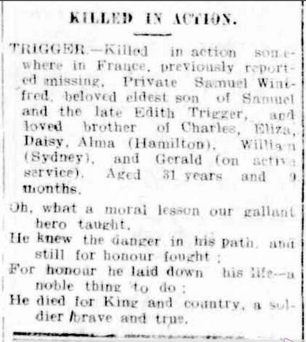 """Advertising."" Hamilton Spectator (Vic. : 1870 - 1873; 1914 - 1918) 20 Jul 1917: 2. Web. ."