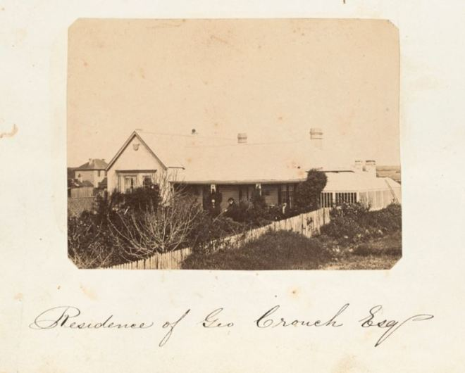 CROUCH RESIDENCE, PORTLAND c1859. Photographer Thomas Hanney. Image Courtesy of the State Library of Victoria. Image no. H2013.345/14 http://handle.slv.vic.gov.au/10381/318507