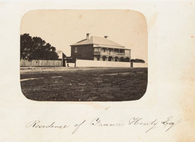 CLAREMONT c1859. Photographer Thomas Hanney. Image courtesy of the State Library of Victoria. Image no. H2013.345/5 http://handle.slv.vic.gov.au/10381/318575