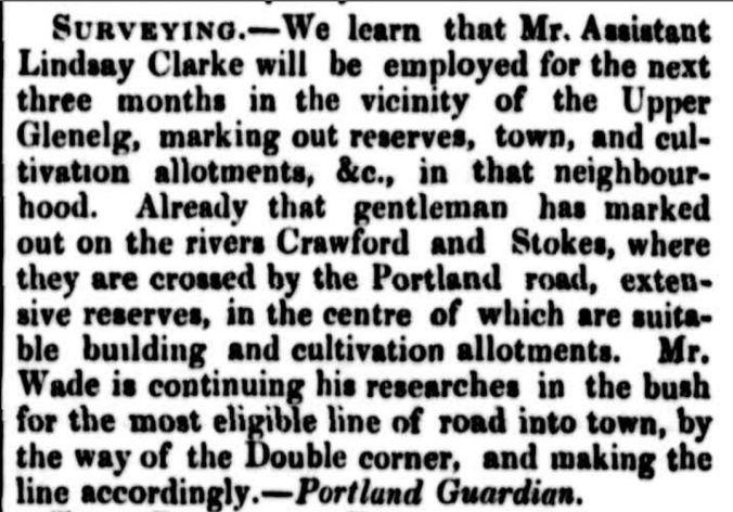"""PORTLAND BAY."" The Cornwall Chronicle (Launceston, Tas. : 1835 - 1880) 15 Jan 1851: 26. ."