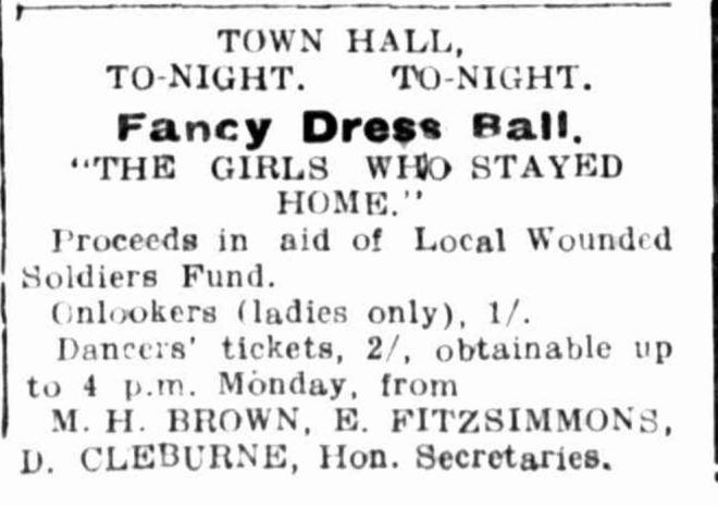 """Advertising."" Hamilton Spectator (Vic. : 1870 - 1873; 1914 - 1918) 22 Nov 1915: ."