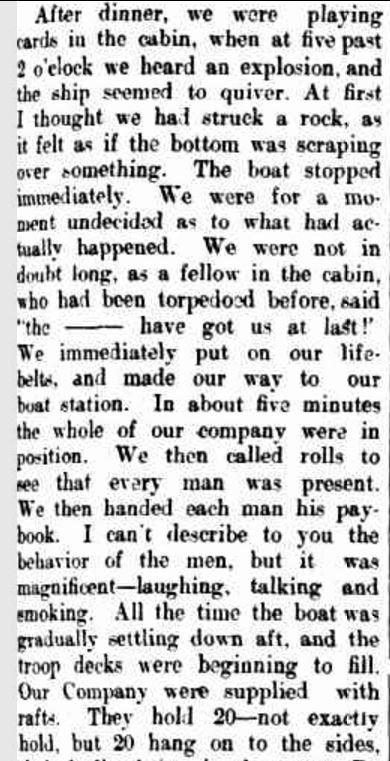 """SOLDIERS' LETTERS."" The Bacchus Marsh Express (Vic. : 1866 - 1918) 14 Jul 1917: 3. Web. 12 Dec 2015 ."