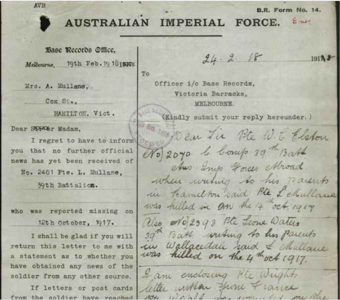 Image courtesy of the National Archives of Australia. http://discoveringanzacs.naa.gov.au/browse/records/288121/17
