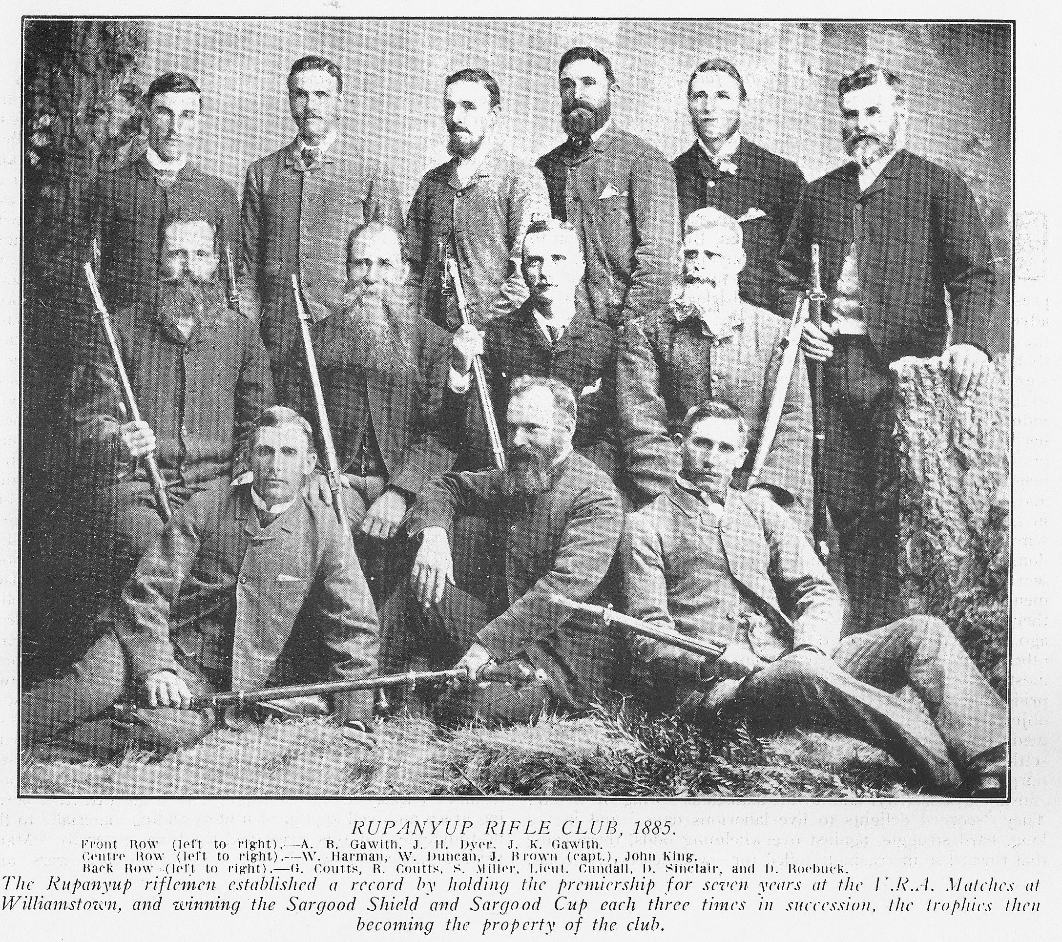 Image courtesy of the Rupanyup Historical Society.