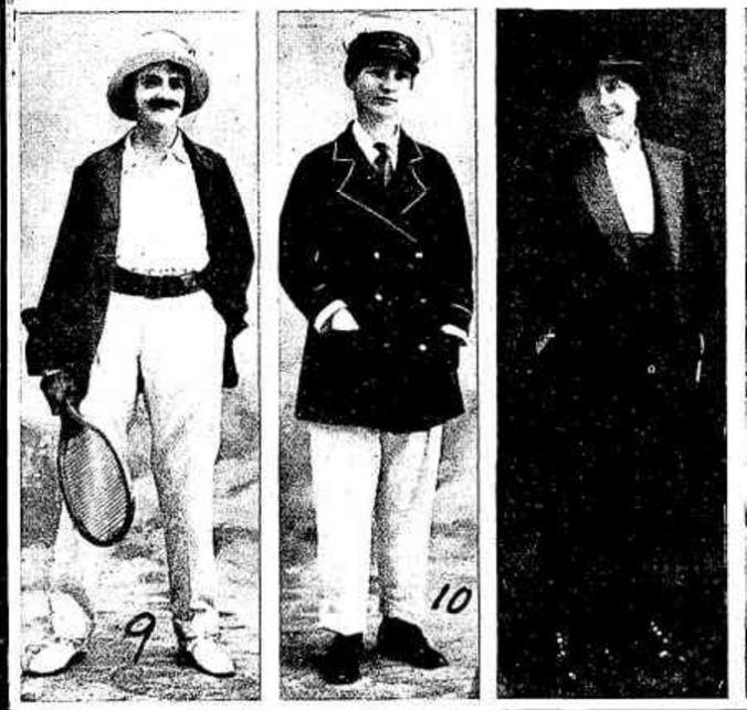 """""""HAMILTON LADIES' FANCY DRESS BALL."""" Punch (Melbourne, Vic. : 1900 - 1918; 1925) 23 Dec 1915: 24. ."""