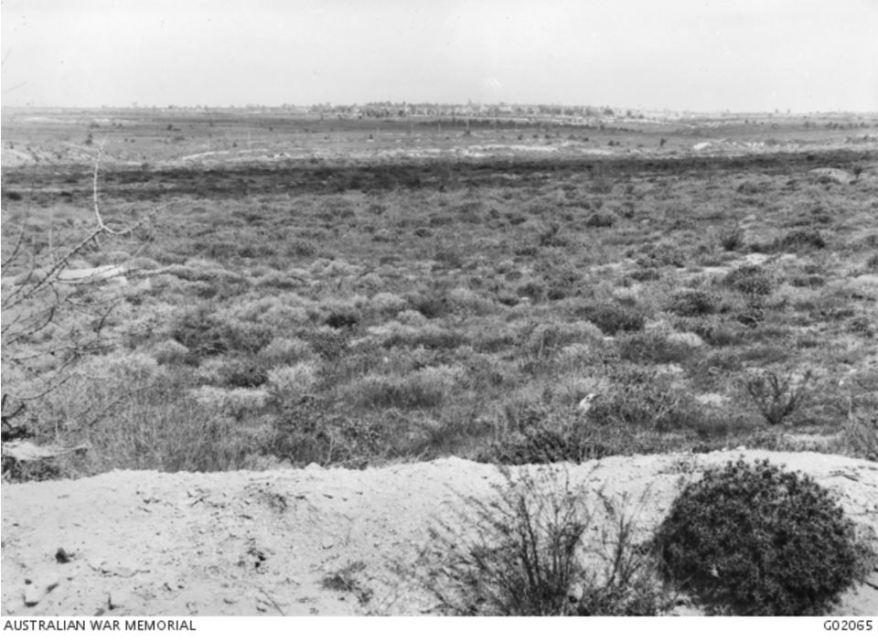 VIEW OF KRITHIA GALLIPOLI. Image courtesy of the Australian War Memorial