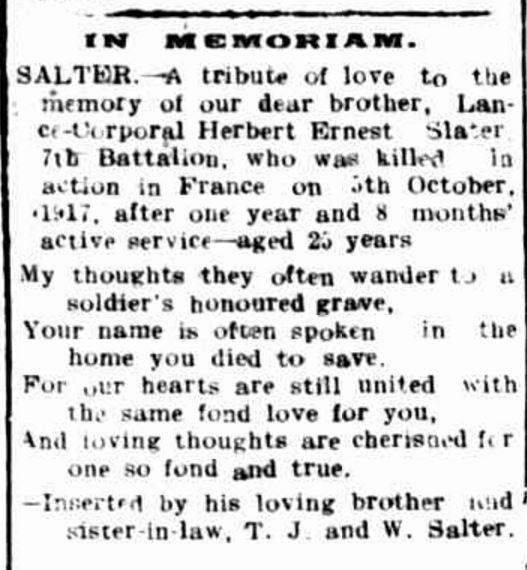 """""""Advertising."""" Hamilton Spectator (Vic. : 1870 - 1873; 1914 - 1918) 8 Dec 1917: 6.."""