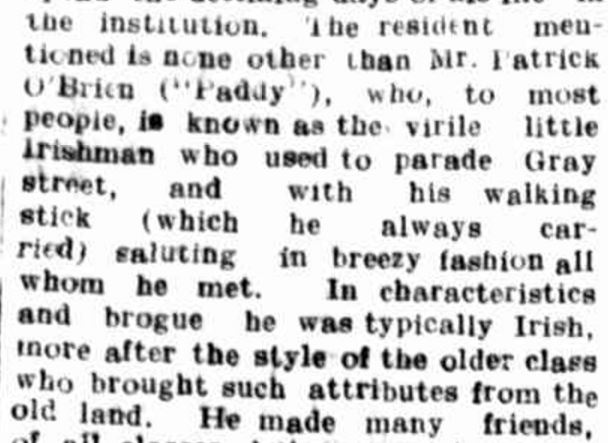 """DEATH OF AN OLD HAMILTON RESIDENT."" Hamilton Spectator (Vic. : 1870 - 1873; 1914 - 1918) 21 Jan 1916: 4. ."