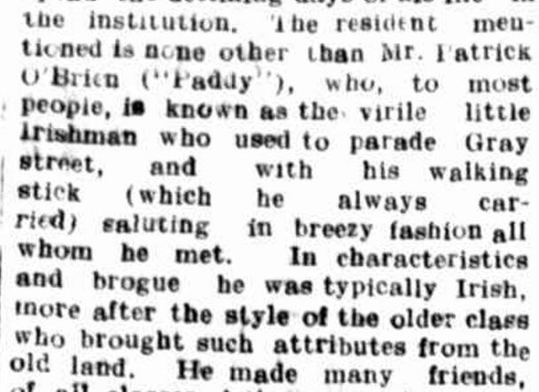 """DEATH OF AN OLD HAMILTON RESIDENT."" Hamilton Spectator (Vic. : 1870 - 1873; 1914 - 1918) 21 Jan 1916: 4. ."