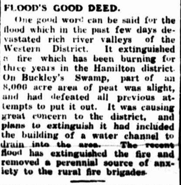 """FLOOD'S GOOD DEED."" Portland Guardian (Vic. : 1876 - 1953) 1 April 1946: 2 (EVENING). Web. ."