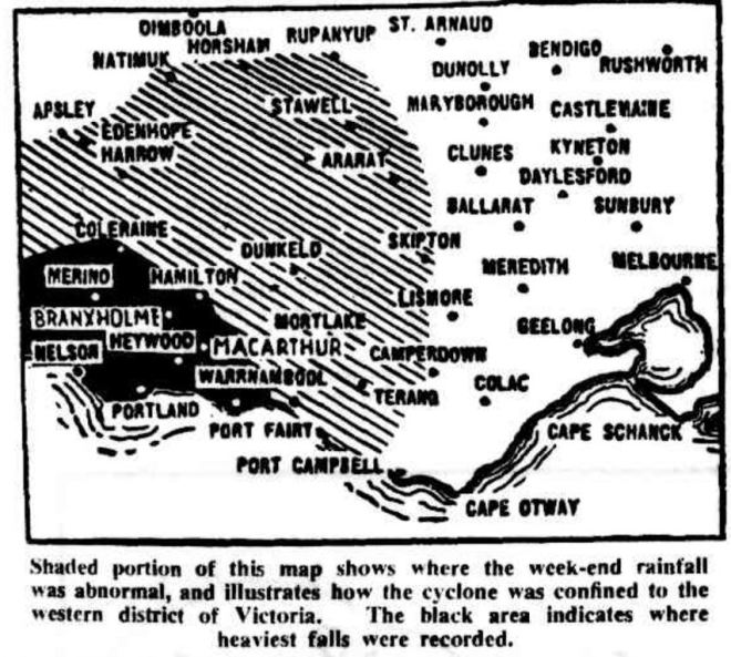 """""""FAMILY TAKEN OFF ROOF"""" The Sydney Morning Herald (NSW : 1842 - 1954) 19 March 1946 ."""
