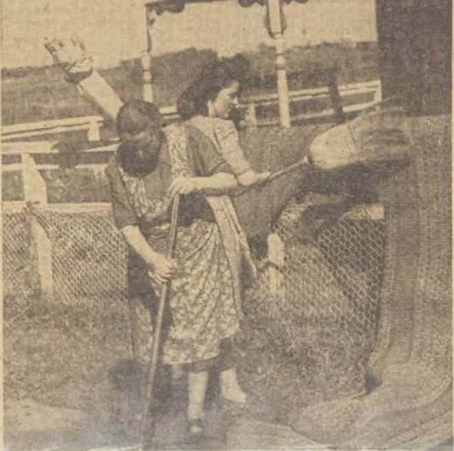 """Green pastures and hard work after floods"" The Australian Women's Weekly (1933 - 1982) 6 April 1946: ."