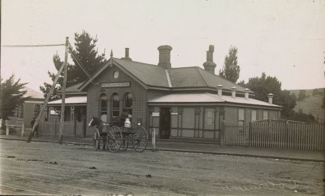 COLERAINE POST OFFICE. Image courtesy of the State Library of Victoria. http://handle.slv.vic.gov.au/10381/304435