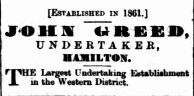 """Advertising"" Hamilton Spectator (Vic. : 1870 - 1873; 1914 - 1918) 17 April 1880:."