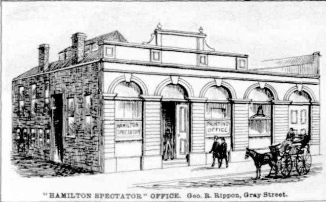 """VIEW OF HAMILTON VICTORIA."" Hamilton Spectator (Vic. : 1870 - 1918) 17 April 1888: 1 (SUPPLEMENT TO THE HAMILTON SPECTATOR).."