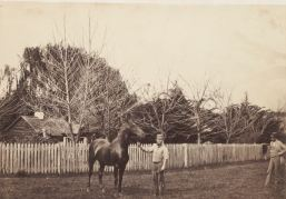 CECIL PYBUS COOKE right, AT MURNDAL. Image courtesy of the State Library of Victoria. http://handle.slv.vic.gov.au/10381/334470