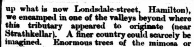"""EARLY SETTLEMENT OF AUSTRALIA FELIX."" Hamilton Spectator (Vic. : 1870 - 1918) 20 November 1884: 3. Web. 8 Sep 2016 ."