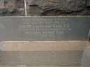 MEMORIAL STONE AT ST.ANDREWS PRESBYTERIAN CHURCH, HAMILTON