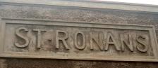 ST RONAN'S NAMEPLATE