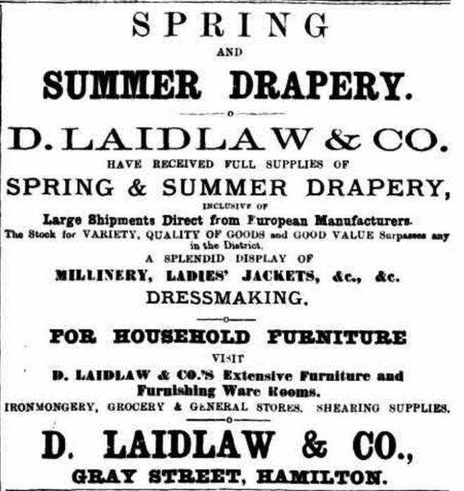 """Advertising"" Hamilton Spectator (Vic. : 1870 - 1918) 13 January 1891: 3. Web. 12 Nov 2016 ."